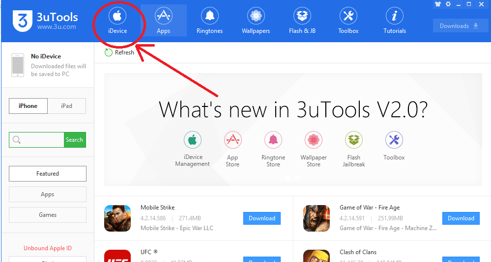 How to download Apps using 3uTools