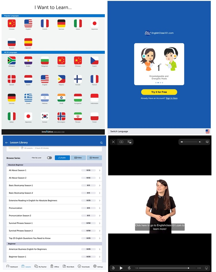 Innovative Language 101 App download