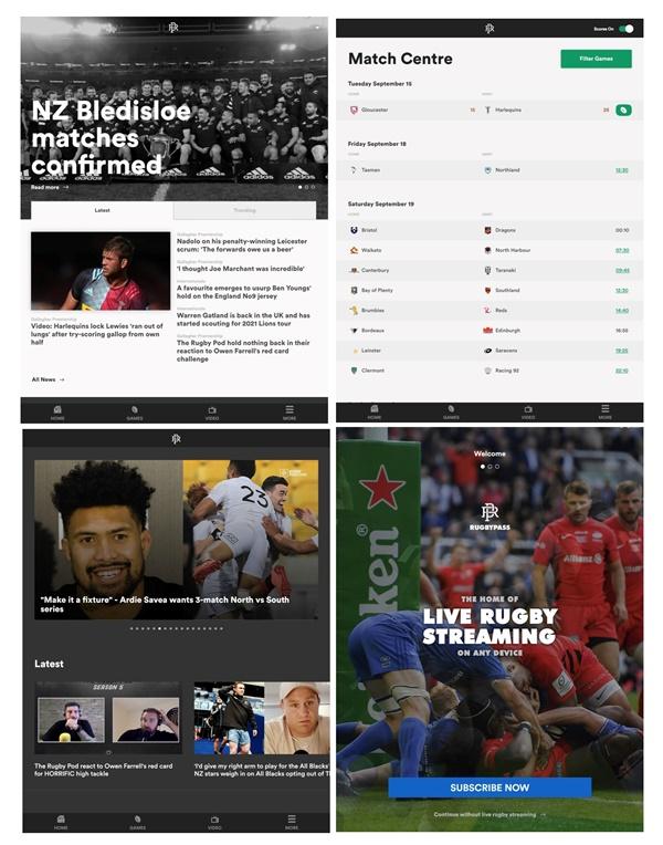 rugbypass app