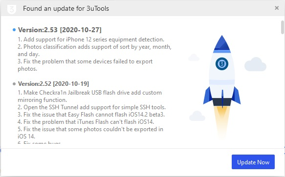3utools update version 2.53